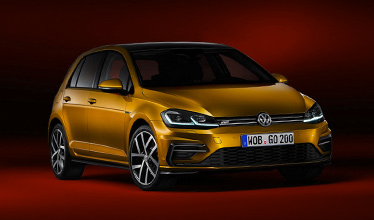 nowy volkswagen golf front page