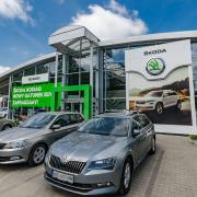 salon skoda lodz