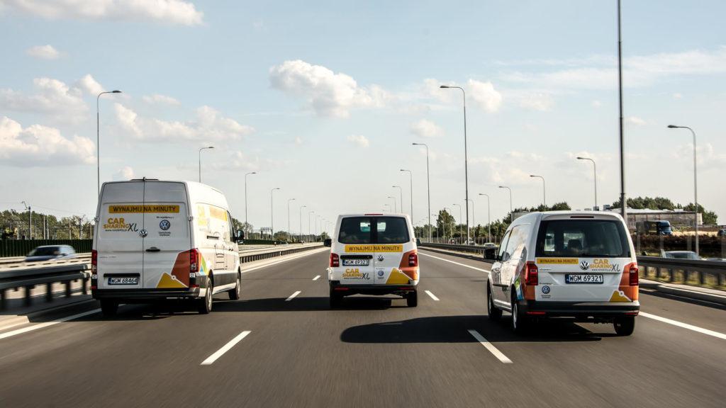 Carsharing Volkswagen Użytkowe
