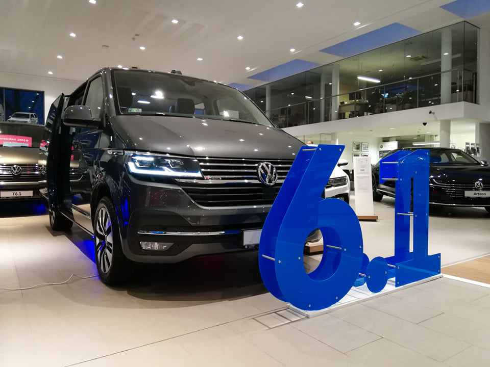 Nowy Volkswagen T6.1