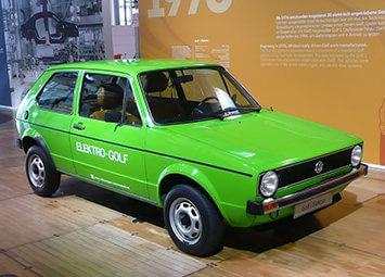 Pierwszy elektryczny samochód Volkswagena