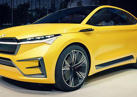 VISION iV – elektryczny samochód koncepcyjny SKODY