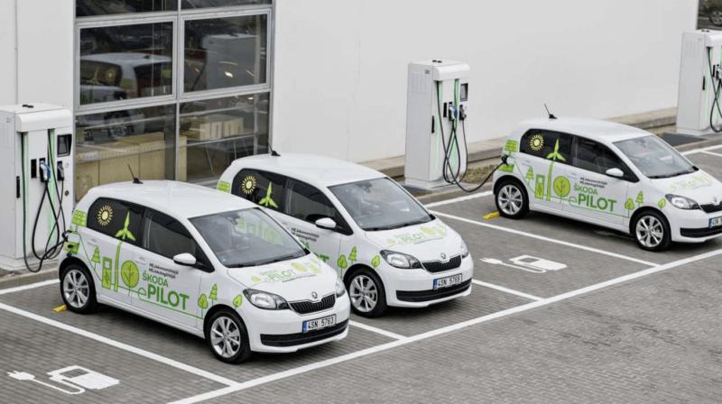 Rok elektromobilności SKODY