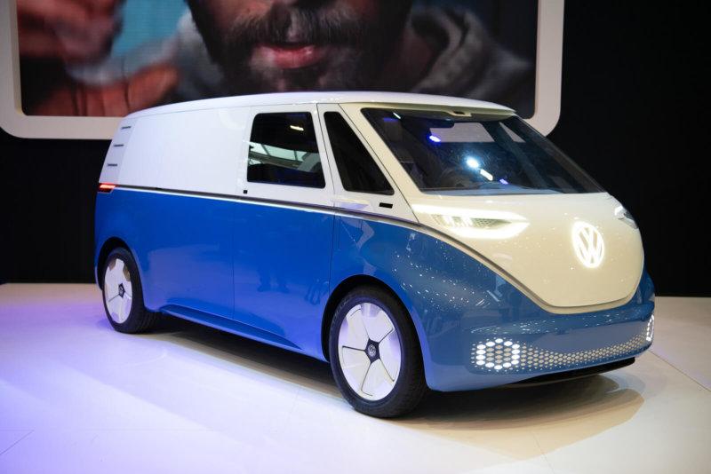 Elektryczny Volkswagen Crafter, Caddy i Transporter