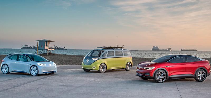 Stylistyka rodziny samochodów Volkswagen ID