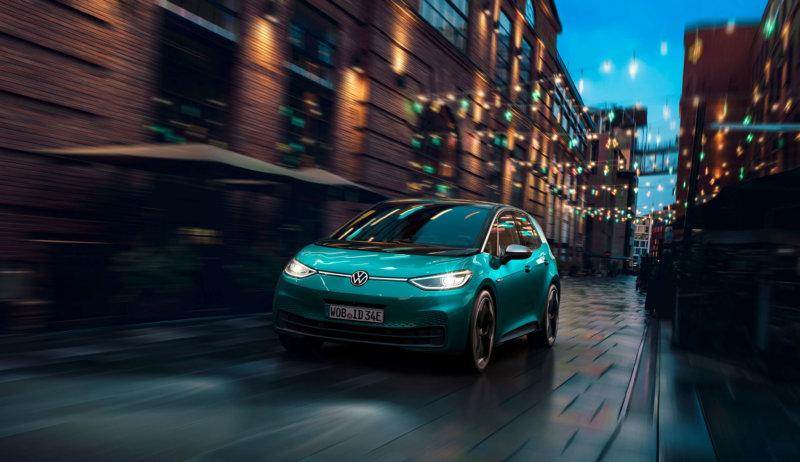 Nowoczesna komunikacja w elektrycznym Volkswagenie ID.3